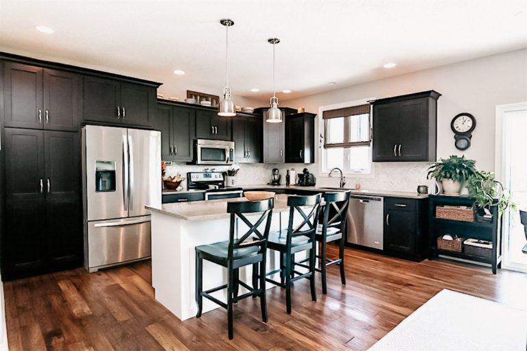 premier custom homes kitchen design